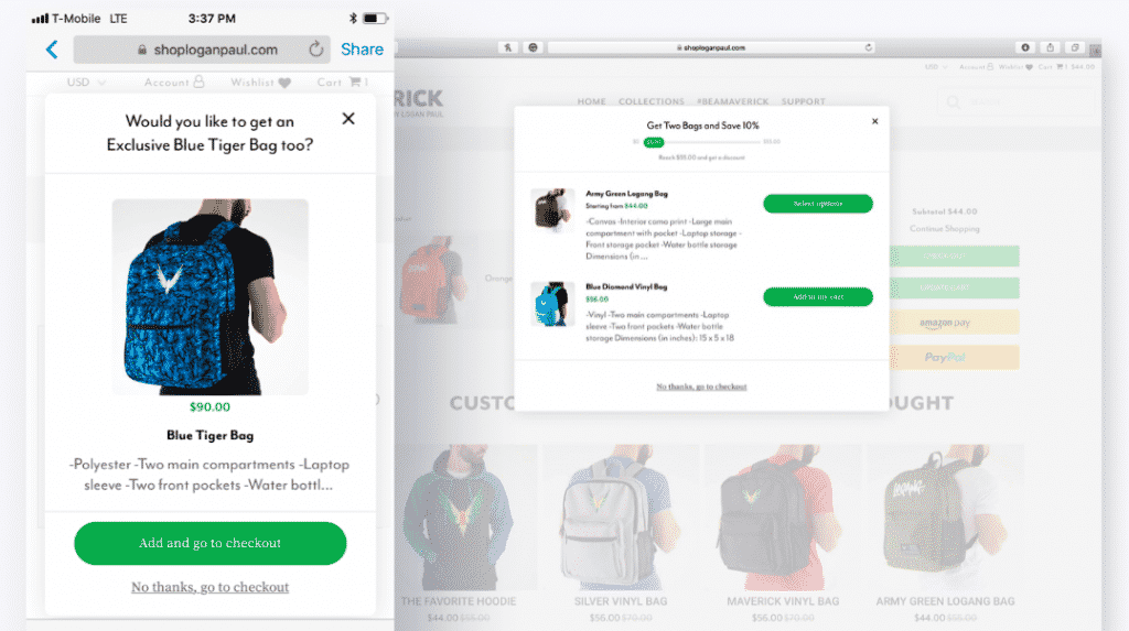 increase order value shopify