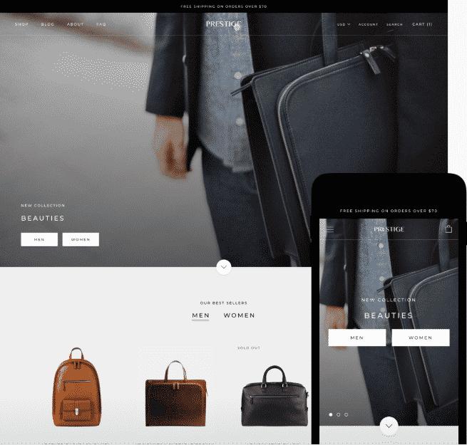 how to design shopify website