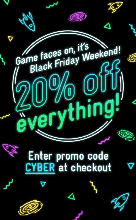 Asos black friday promotional email