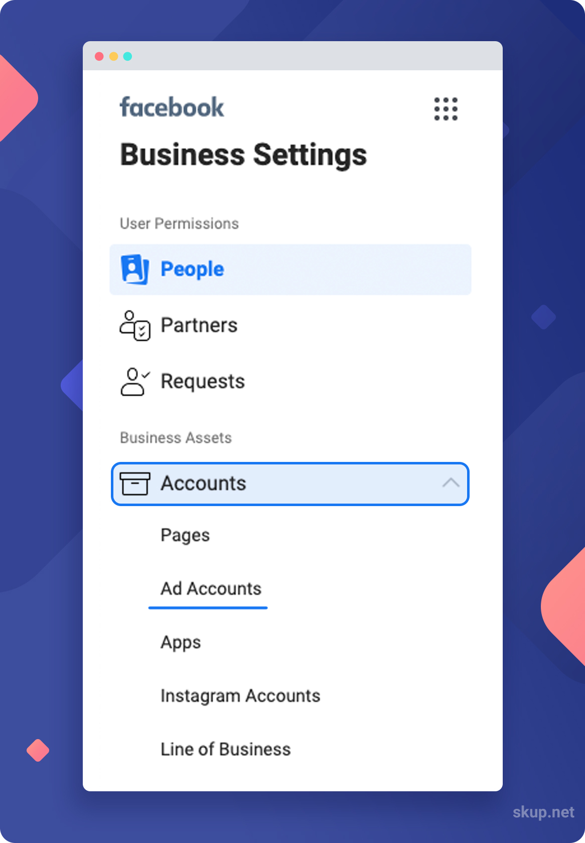 facebook business manager setup